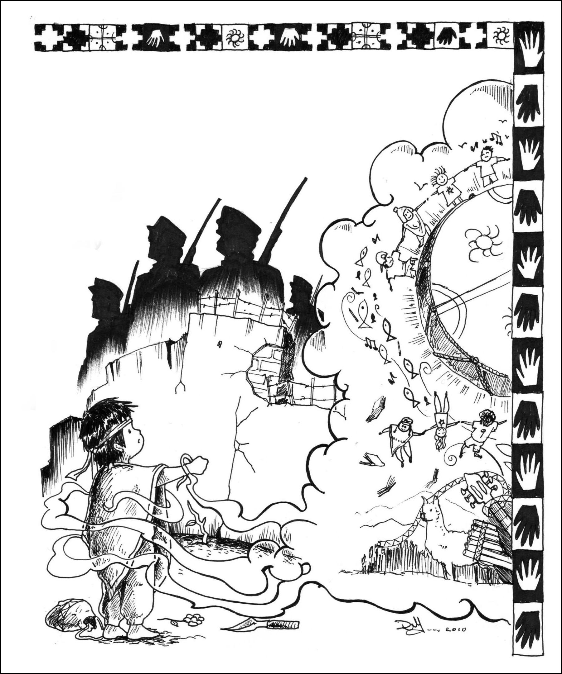afiche-campac3b1a-nic3b1ez-mapuche