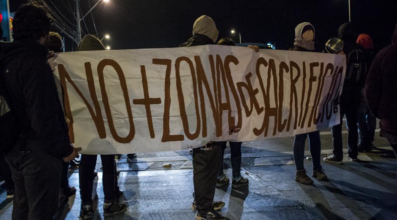 Panorama actual de la lucha contra la industria gasífera en Talcahuano.