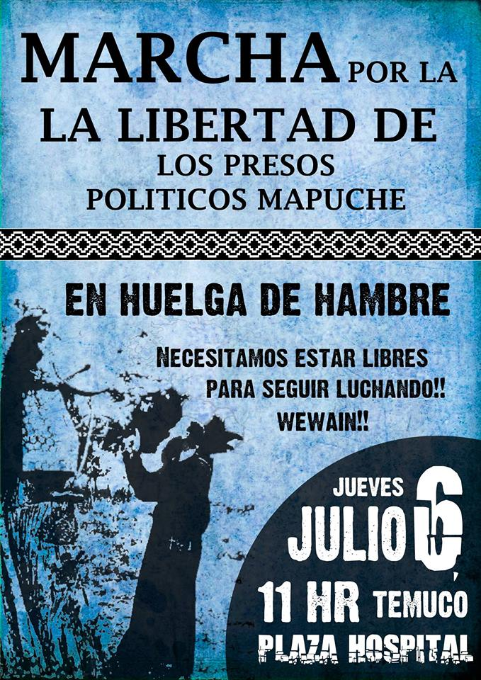 marcha mapuche 6 de julio