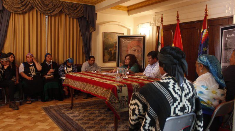 [Video Reporte] Comitiva por la vida de Celestino Córdova visita consulado de Bolivia