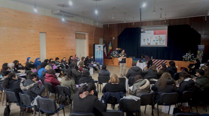 Comunicación articuladora se vivió en el taller de comunicación facilitado por la Red de Gestores Culturales FICWALLMAPU 2018 en Nueva Imperial.