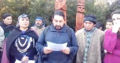 """[Video] Comunicado público Machi Celestino Córdova """"…la palabra del gobierno no tiene valor alguno""""."""