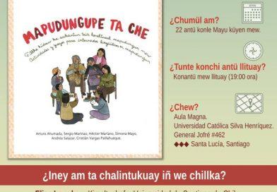 """""""Mapudugupe ta che!"""": lanzamiento libro de actividades para la enseñanza del mapuzugun."""