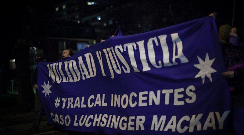 Concepción marcha por la libertad de los Tralcal y la nulidad del caso Luchsinger-Mackay