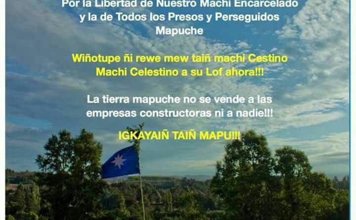 Convocan a movilización social y multiterritorial mapuche en Temuko.