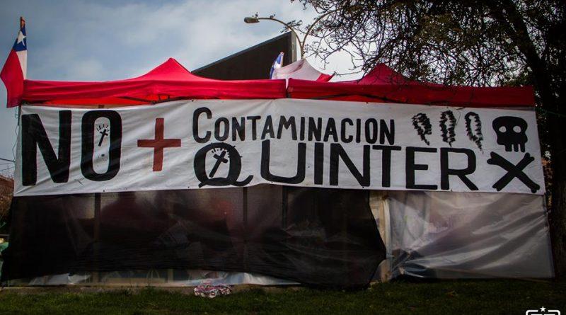 Comunicado del cabildo de Quintero-Puchuncaví tras la marcha nacional No+zonas de sacrificio.