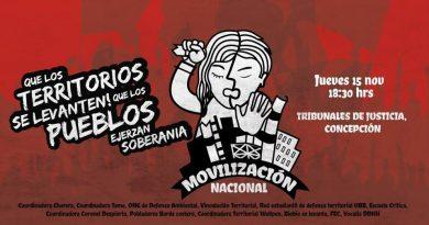 Concepción se suma a movilización nacional contra las Zonas de Sacrificio