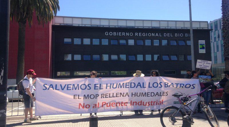 [Video] Aprueban Proyecto Puente Industrial que amenaza Humedal Los Batros