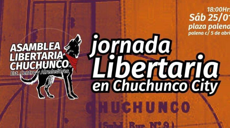 [Santiago] Realizarán Jornada Libertaria en Estación Central