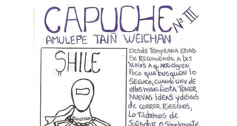 """""""Capuche n° 3"""": el boletín creado por preso político de Concepción"""