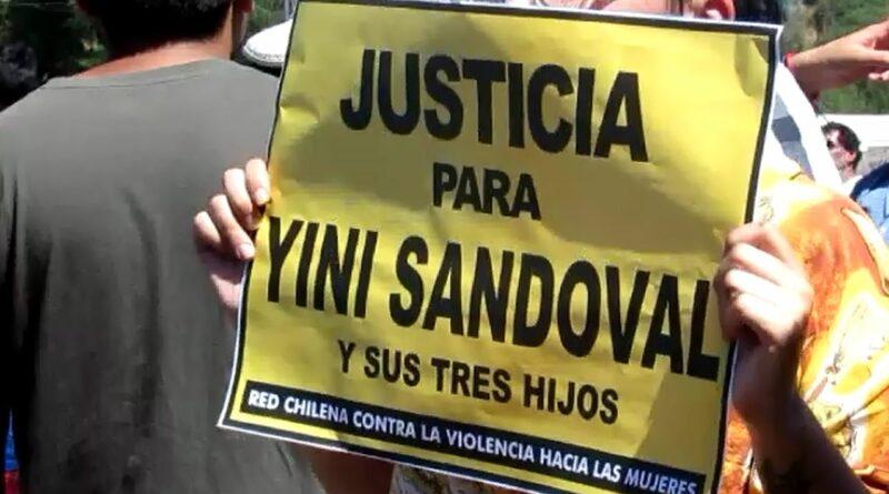 DECLARAN CULPABLE A IMPUTADO POR HOMICIDIO DE YINI SANDOVAL Y SUS 3 HIJOS