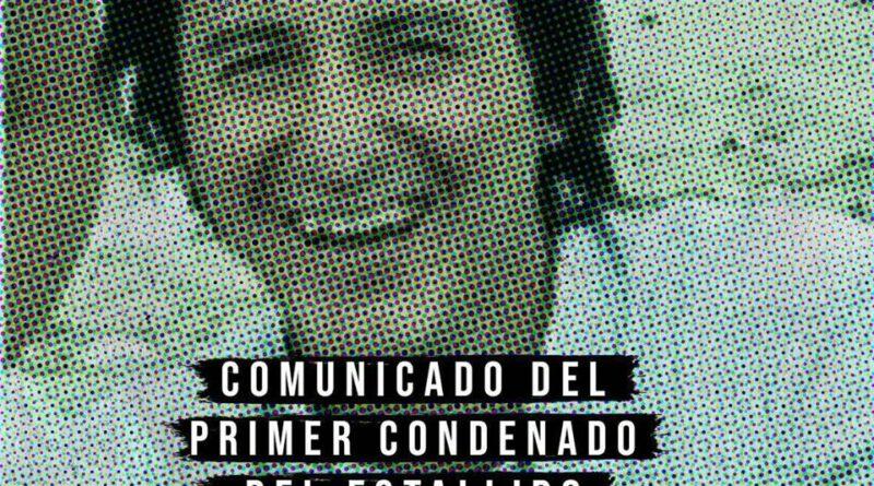 [Concepción] Comunicado de Carlos «Beto» Peyrin, el primer condenado del estallido social