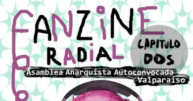 [Podcast] Fanzine Radial #2 de la Asamblea Anarquista Autoconvocada de Valparaíso
