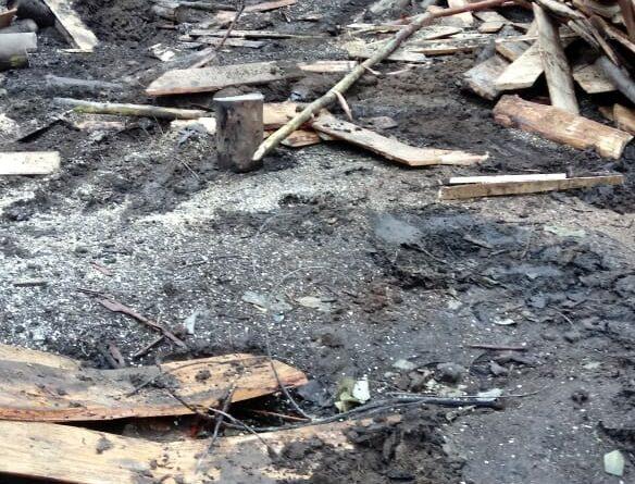 [Audio] Fuerzas Especiales y Yanakonas queman ruka en Lof Llollowenko