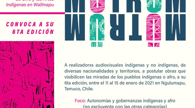 ABRE CONVOCATORIA EL FESTIVAL DE CINE Y ARTES INDÍGENAS EN WALLMAPU