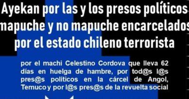 [Hualqui] Realizarán Ayekan por las y los presos políticos