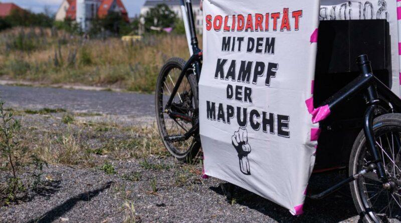 Desde Leipzig, solidaridad internacionalista con las luchas en el estado chileno