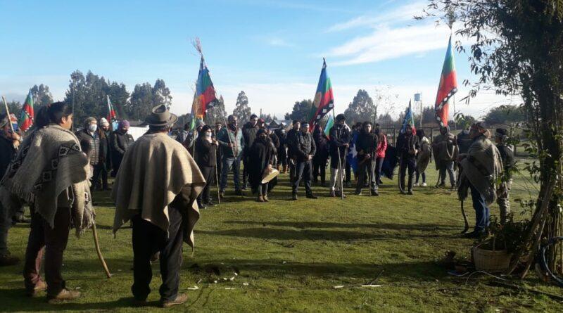 Nueva Imperial: Comunidades mapuche realizan gran caravana contra instalación de línea de alta tensión