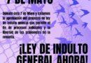 Jornadas de Protesta por la aprobación del Indulto General en el Gran Concepción.