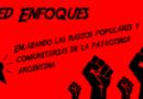 Enfoques, el resumen semanal de los medios comunitarios y populares de la patagonia