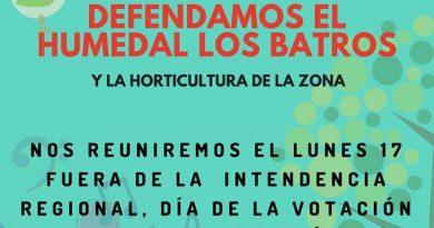 Realizarán concentración en defensa del Humedal Los Batros amenazado por proyecto Puente Industrial