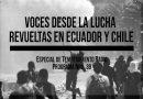 Voces desde la lucha: revueltas en Ecuador y Chile