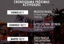 Chiguayante: Calendario Actividades Asamblea Chiguayante Organizado.