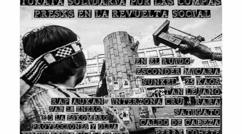 [Concepción] Realizarán Tocata Solidaria con pres@s de la revuelta social