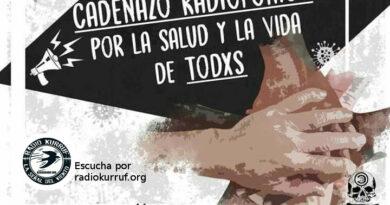 Cadenazo Radiofónico Por la Salud y La Vida de Todxs