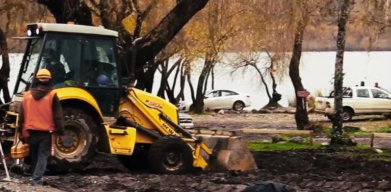 Denuncian destrucción de humedales en Lago Villarrica