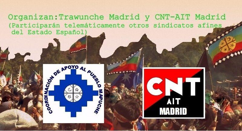 [Madrid] Realizarán charla sobre la huelga de hambre de los presos políticos mapuche