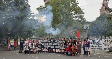 Italia: Manifestación contra el terrorismo de Estado chileno