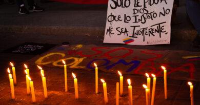 [Concepción] Concentración solidaria con el pueblo de Colombia