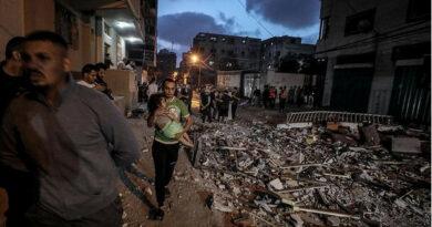 Israel lanza más de 1500 rondas de bombardeos hacia Palestina en las últimas 72 horas