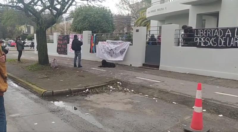 Organizaciones y familiares de presos políticos hacen ocupación de rectoría UDEC