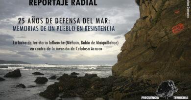 [Podcast] Reportaje | 25 años de defensa del mar: memorias de un pueblo en resistencia