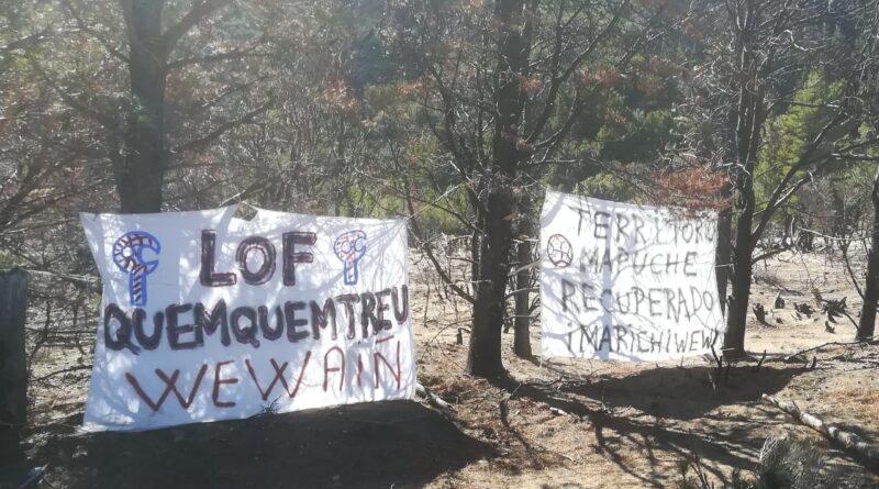Puelmapu: Desalojan y detienen a miembros del Lof Quemquemtrew en Cuesta del Ternero Río Negro