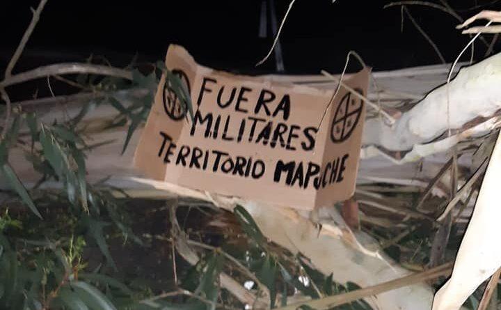 Wallmapu: Realizan manifestaciones contra la militarización en distintos puntos del territorio